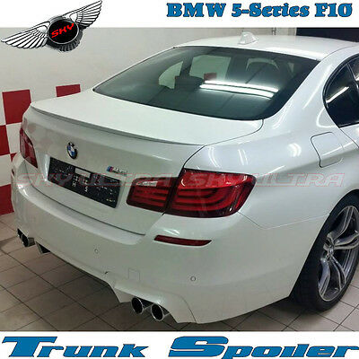 Stock ABS New A Type Rear Roof Spoiler Wing For 11~17 BMW 5-Series F10 Sedan