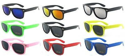 KIDS Girls Boys Children  Classic Mirror Sunglasses Shades Aviator