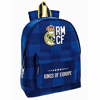 "REAL MADRID ""BLUE"" Mochila grande/backpack/sac à dos/zaino"