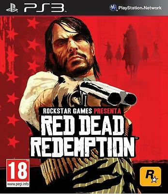 Red Dead Redemption PS3 - Brand New and Sealed