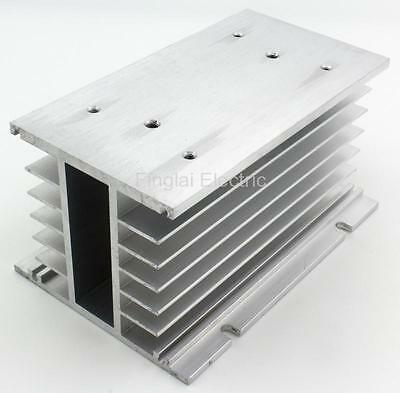 FHS-T80 150*100*80 80A three phase solid state relay SSR aluminum heat sink