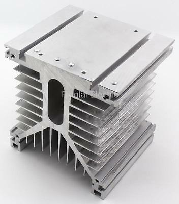 FHS-T150 125*135*110 150A three phase solid state relay SSR aluminum heat sink