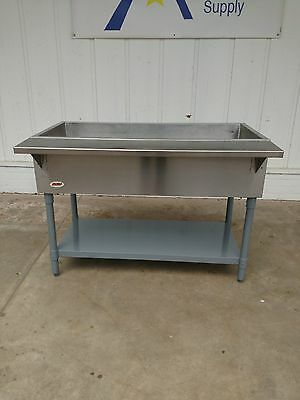 """Eagle Group CP-3 48"""" Cold Pan Unit-Ice Type, Open Base #1170"""