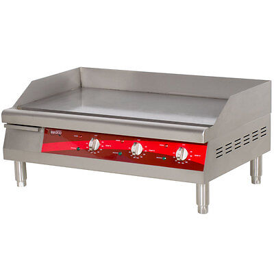 New Avantco Electric Commercial Flat Top Restaurant Griddle Countertop Equipment