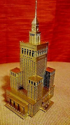 Palace of Culture and Science souvenir building replica architecture model