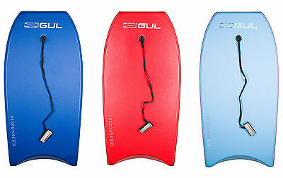 "Gul Watersports Response 42"" Adults Bodyboard with Leash - 3 Colours"