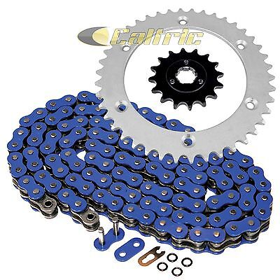 Blue O-Ring Drive Chain & Sprockets Kit Fits SUZUKI DR600S 85-89 DR650RSE 90-95
