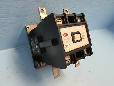 ABB EHD-280 Spectrum Drive Contactor 280 Amp 600 VDC EHD280 280A Cont. 120V Coil