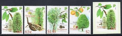 SINGAPORE MNH 2008 SG1819-23 Cash Crops of Early Singapore