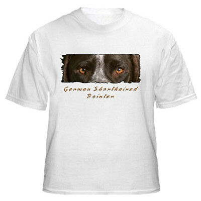 "German  Shorthaired  Pointer   #1   ""The Eyes Have It""   Tshirt"