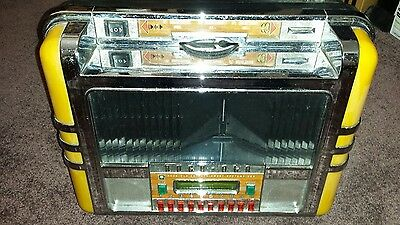 Rock-Ola Sybersonic Wallette CD Wallbox Model BBCD-01 Very Good Cond Free Ship!