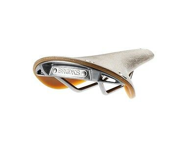 New Brooks England Leather Cambium C17 Natural Men's Road Bike Saddle
