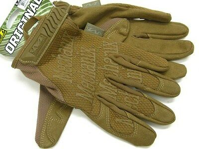 MECHANIX WEAR Large L Coyote Tan THE ORIGINAL Tactical Work Gloves! MG-72-010