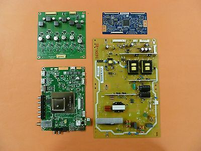 VIZIO LED TV  COMPLETE PARTS REPAIR SET FROM D650i-B2 (With Blue T-Con Board)