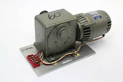 Parvalux Dc Shunt Wound 1/6 Hp Gear Motor Gearbox Sd 11 Ws, 220V