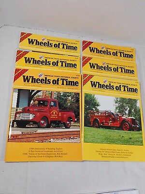 """WHEELS OF TIME"" 1999 Magazines Full Year 6 Issues Trucks Trucker"
