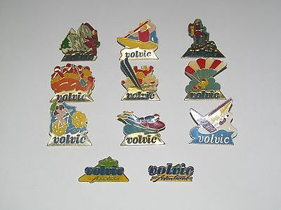 Pin's Publicitaire Collection Metal + Attache Volvic Modèle au choix