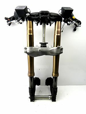 08 - 12 Hayabusa Gsx1300R Front End Forks Suspension Handlebars Triple Tree