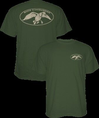 Duck Commander Logo S/S T-Shirt Moss Large