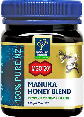 Manuka Health Manuka Honey MGO 30+ Pure New zealand honey in 250g, 500g, 1kg