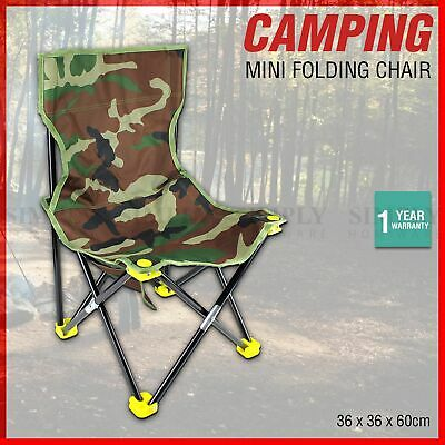 Folding Camping Chairs Portable Hiking Fishing Outdoor Travel Beach Picnic Stool