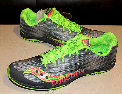 8def1c70 SAUCONY WOMENS KILKENNY XC 4 Cross Country Spikes GREEN Track & Field Shoes  $75