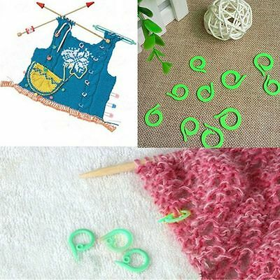 Hot 20 PCS (10S+10L) Plastic Latch Knitting Crochet Tools Locking Stitch Markers