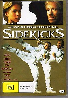 Sidekicks - Chuck Norris New All Region Dvd