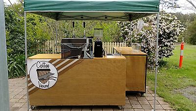 Mobile Coffee Cart and Trailer – Ready to Serve!
