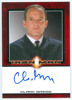 "Clark Gregg ""phil Coulson Autograph Card"" Rittenhouse Iron Man"
