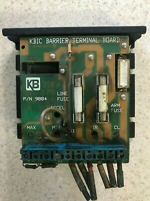 KB ELECTRONICS KBIC-240 (9428A) DC Motor Speed Control With Terminal Board
