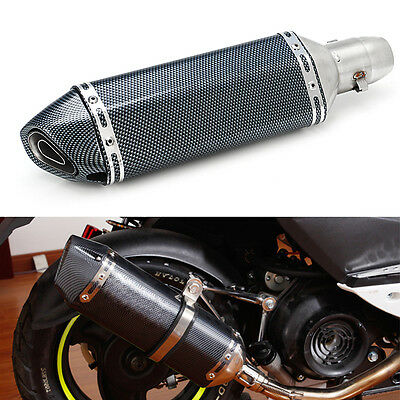 Universal 38-51mm Exhaust Muffler Modified Scooter Exhaust Pipe For CBR CBR250