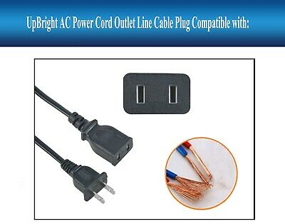 AC IN Power Cord Charging Cable Charger Plug Lead For Jump Starter JumpStarter