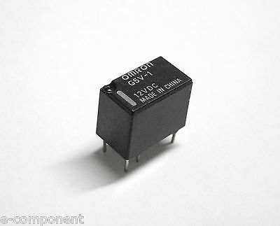 RELAY' OMRON G5V-1 Coil 12Vdc 1A - 1 exchange printed circuit