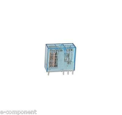 Relay 24Vdc Two exchange 5A model FINDER 4052
