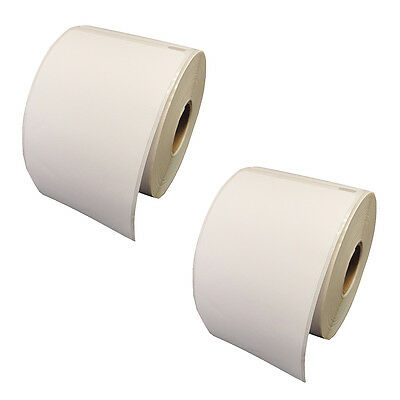 """2 Rolls Compatible DYMO 30256 Shipping Label 2-5/16"""" x 4"""" 300 Labels Per Roll"""