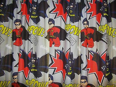 Lego Batman & Robin blackout curtains