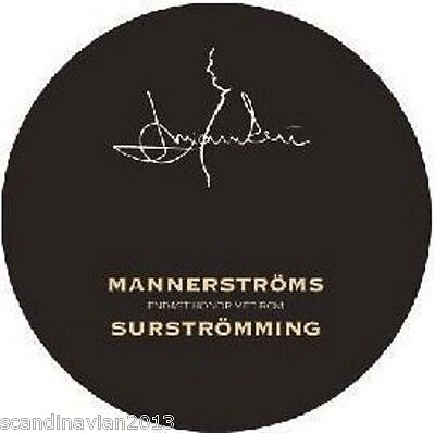 Mannerstroms Surstromming The Traditional Swedish Fish Food Made in Sweden
