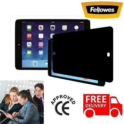 Fellowes Privascreen Blackout Privacy Filter for Apple iPad Air & 2 Screen Glass