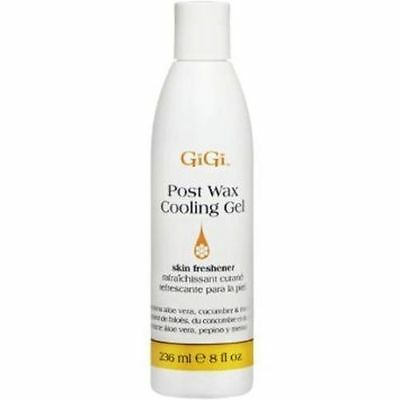 GiGi Post Wax Cooling Gel Soothes, Refreshes, Cools Skin After Waxing 236ml NEW