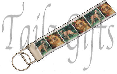 Brussels Griffon Breed of Dog Matching Keyring Key Ring   Bookmark   Ideal Gift