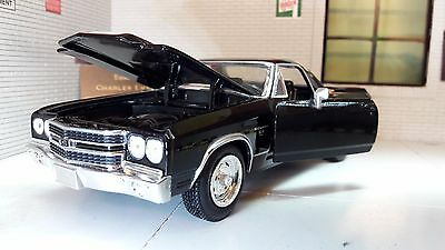 G 1:25 24 Scale 1971 Chevrolet El Camino SS 1970 New Ray Model Car Pickup 71883