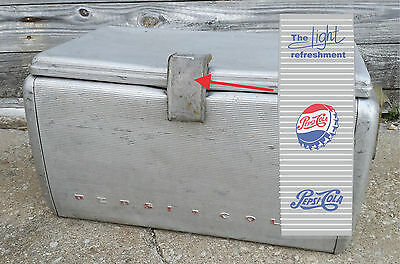 Pepsi-Cola Metal Cooler 1950's DECAL only