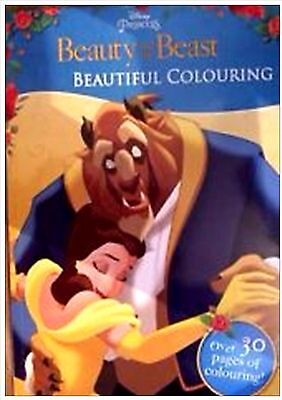 Beauty And The Beast Beautiful Colouring (Paperback), Children's Books, New