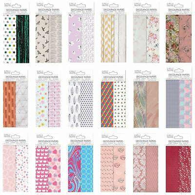 *OFFER* First Edition Deco Mache Patterned Decoupage Tissue Papers - BIG RANGE!