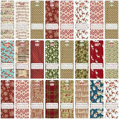 *OFFER* First Edition Deco Mache Christmas Decoupage Tissue Papers - BIG RANGE!