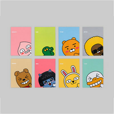 Kakao Friends Character Lined Writing Paper Notepad Notebook