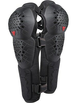 Dainese Black 2017 Armoform Lite Ext Pair of MTB Knee Guard