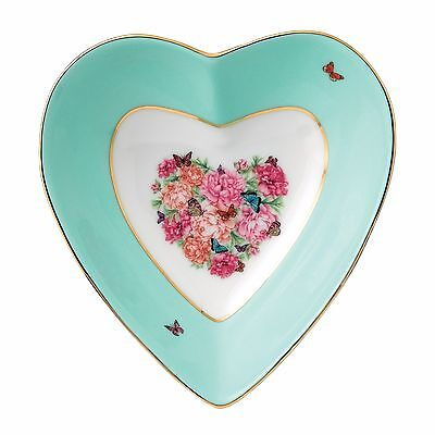 New JUST IN! Miranda Kerr for Royal Albert BLESSINGS Heart Tray 13cm-great gift!