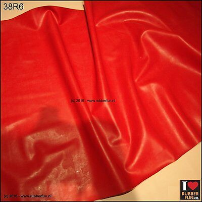 Pure red rubber sheet - bed protector - clinical red - heavy duty